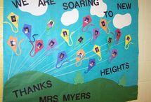Teach Appreciation Door Ideas / by Alicia Hansen