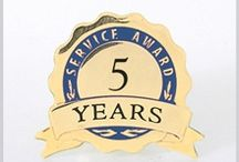 Service Awards / When you recognize an employee anniversary, you're making a meaningful gesture that shows you value the loyalty and commitment of their years of service.  / by Baudville