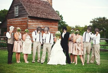Rustic Weddings / Worn and weathered weddings in places that might kill seasonal allergy sufferers warm my heart. http://www.leavemetomyprojects.com/ / by Natalie Webb