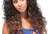 Half Wigs / Collection of most popular hairstyle in half wigs for black women on Apexhairs.com / by Apexhairs