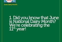 National Dairy Month / It's June Dairy Month - 30 days of refrigerated dairy facts, ideas and tips! / by Easy Home Meals