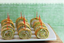 Party foods! / Delicious snacks for entertaining.  / by Heather Cathers