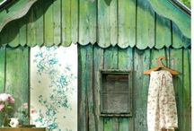 Outbuildings / by Betty and Violet