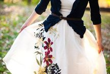 Pretty clothes for a skinny me. Someday hopefully.  / by Maura Sauer