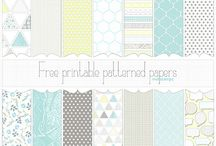 Digital Freebies / Lots of digital downloads and printables for free including fonts, background papers, tags, organizer sheets and more. / by Shalana Frisby