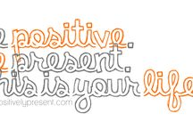 Another little word ;) - 2012 - POSITIVE / by Melanie ..