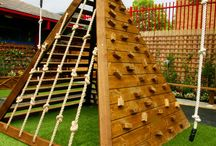 Playground Ideas / Can I be a kid again? / by Katie WellnessMama