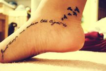 Tattoos / by Jessica TerraNova Finch
