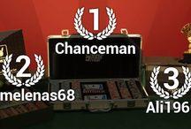 Poker tournaments winners / Here are the winners of the SodaPoker's tournaments / by Soda Poker | Play Free Poker