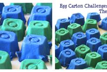Egg Carton Crafts / Toddler and preschool activities using egg cartons. / by Sheryl @ Teaching 2 and 3 Year Olds