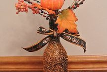 Halloween/Fall decor / by Charity Lewis-Vocker