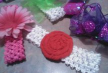 My own crafts / Hairbows, party decorations, anything I make! / by Melissa Lawson Darnell