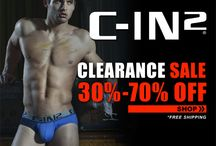 Clearance, Sale, Special Offer... / Get special deals and offers at C-IN2 / by C-IN2 Men's Fashion Underwear