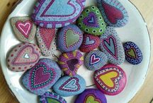Painted Rocks / by Vickie Gritz
