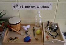 Preschool- Music and Sound / by Anja De Laat