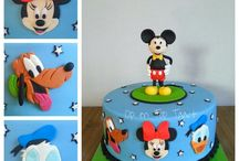Mickey Mouse Cakes/Party Ideas / by Frosted999