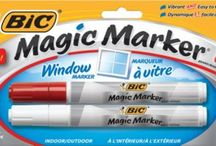 BIC Magic Marker Window Markers / Writing on windows is fun! / by BIC Mark-It