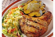 My Chop Inspiration  / Maple-Pepper Chops with Sizzling Applesauce / by Carol Norton