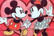 Mickey and Minnie Mouse / by wanda riggan