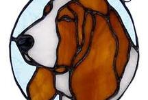 staneid glass dog / by marcio peretti