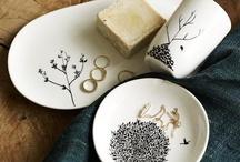 sur la table / by moccas c.