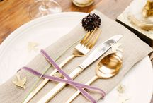>> placesetting perfection << / by mStarr event design > emily