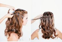 Peinados y maquillajes / by Silvia Martinez
