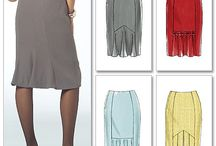 Costura - faldas / by Rosa Maria Porras Fernandez