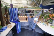 Cubicle Decorating / Need a change!!!!! / by Camille Gerou