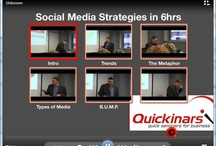 Quickinars / Quickinars offers short info-packed seminars on social media marketing topics. Quickinars are designed to build your social media skills quickly and easily.Brought to you by Internet marketing veterans Anduro Marketing and communicatto. www.quickinars.com / by Anduro Marketing