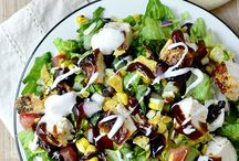 Yummy Salads / by Angelica N. Sumter