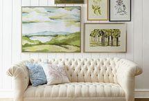 Furnitures / Elegante møbler / by Kirsten Viegaard