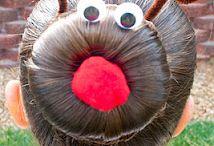 Reindeer bun / by Lisa Tucker