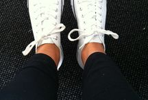 White Converse / by Lauren Micallef