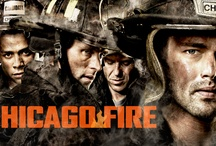 Chicago Fire / For more CHICAGO FIRE, click the series logo on the bottom left of the double line to follow their official profile! http://pinterest.com/chicagofire/ / by NBC
