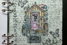 Art Journal/Scrap booking Inspiration / by GA Dream .