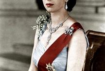 HM Queen Elizabeth  / by Gillian Linard