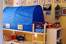 Kids bedroom ideas / by Lisa Hart