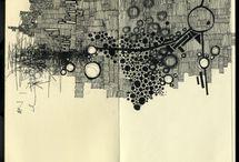 • ink + watercolour + graphite • / by carlita christian
