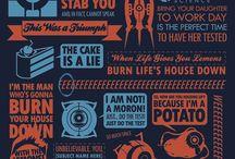 A little geek goes a long way / by Serena Araujo