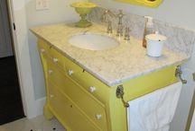 bathroom ideas / by Patti Lang