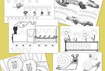 Grafomotricidad / by Escuela en la Nube