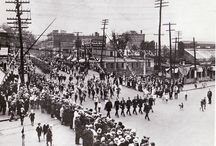 Local History Photographs - Framingham's Armed Forces / Parades and dedications with our Armed Forces in Framingham plus scenes from Framingham's Musterfield.  / by Framingham Public Library