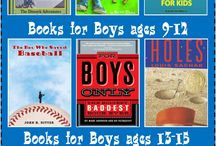books for my boys / by Melinda