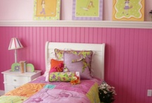 girls bedroom ideas / by Mommysquared S