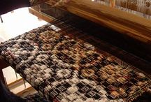 Woven Overshot / One of my favorite types of weaving. I love weaving overshot and I wish I had a collection of coverlets. / by Sylvia Gauthier