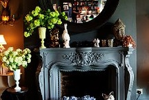 Bookcases, Built-Ins, Fireplaces, Media & Hearth Rooms / ideas for designing the perfect built-in or free standing bookcase, fireplace & decor, for that perfect reading-by-fireside room..... / by Style♦Dwell