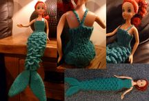 Barbie Doll Crochet and Knit / by Paulette Swim
