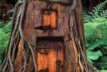 Tree Dwellings / Trees that have actually been turned into houses or space of some kind... / by Dutch Bros. Garage