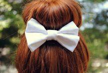 hair bows / by Jordyn Maike